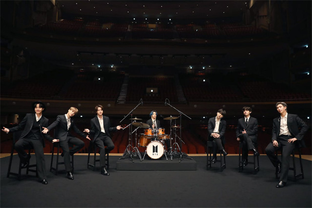 BTS performs 'Dynamite' for MusiCares; Jungkook turns drummer