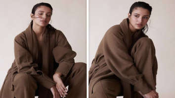 Bulbbul actress Triptii Dimri is reminiscing cold weather as she pairs brown scarf overcoat with sharp pants