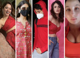 COLOUR OF THE WEEK - RED: Ibrahim Ali Khan, Tamannaah Bhatia & others keep it fiery
