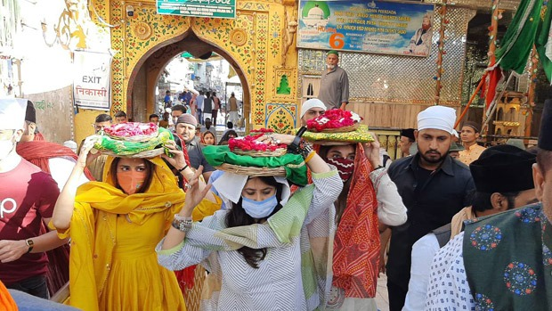 Ekta Kapoor, Ridhi Dogra, Monica Dogra visit Ajmer Sharif to seek blessings ahead of The Married Woman launch