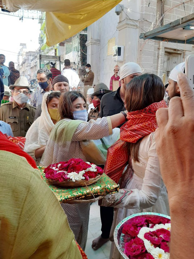 Ekta Kapoor, Ridhi Dogra, Monica Dogra visit Ajmer Sharif to seek blessings ahead of The Married Woman launch
