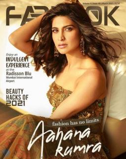 Aahana Kumra On The Cover Of Fablook