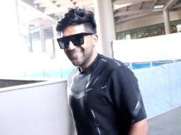 Guru Randhawa spotted at Airport