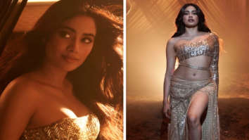 Janhvi Kapoor looks smokin' hot in fiery gold crop top and thigh-slit skirt in 'Nadiyon Paar' song from Roohi