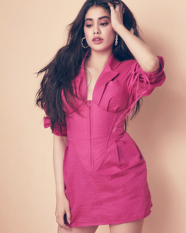 Janhvi Kapoor's little pink dress is dopamine fashion trend of 2021