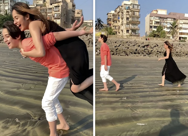 Jannat Zubair shares cutesy video with brother on the song 'Tera Yaar Hoon Mein'