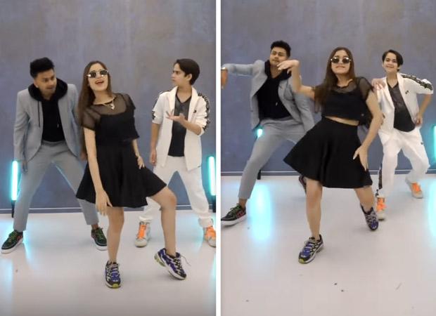 Jannat Zubair shows her dance moves with brother Ayaan and Awez Darbar on Vijay's 'Vaathi Coming'