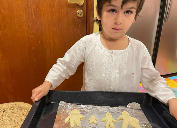 Kareena Kapoor Khan and Taimur Ali Khan turn bakers, posts pictures of their first attempt at baking cookies together