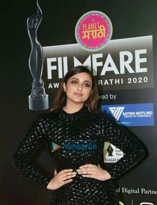 Parineeti Chopra raises the oomph factor in sequined midi dress at Marathi Filmfare Awards 2021
