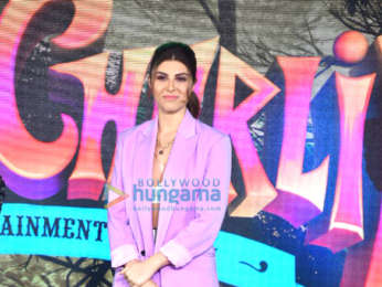 Photos: Aadar Jain, Jackie Shroff, Elnaaz Norouzi and others snapped at the trailer launch of Hello Charlie at JW Marriott in Juhu