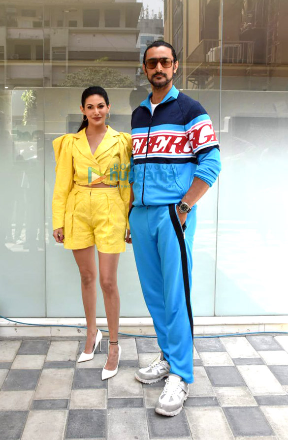 Photos: Amyra Dastur and Kunal Kapoor snapped during Koi Jaane Na promotions