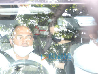 Photos: Deepika Padukone spotted at a dubbing studio in Bandra