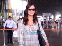 Photos: Dia Mirza, Pranitha Subhash, Rajniesh Duggal and Aditi Sharma snapped at the airport