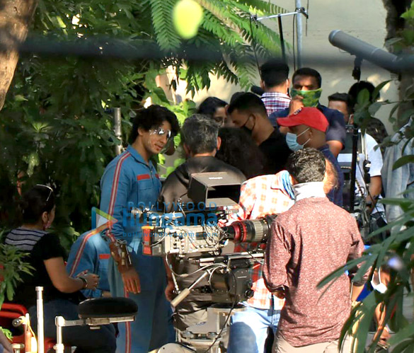 Photos: Ishaan Khatter and Siddhant Chaturvedi snapped on location of a shoot in Bandra