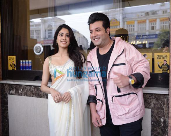 Photos Janhvi Kapoor in Delhi for Roohi promotions (8)
