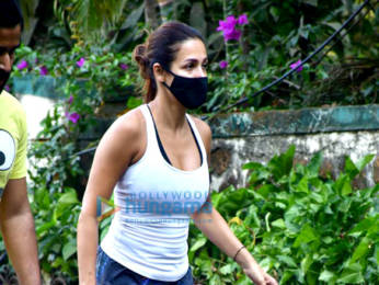 Photos: Malaika Arora spotted on a morning walk