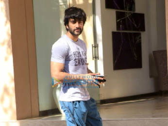 Photos: Meezaan Jaffrey snapped in Andheri