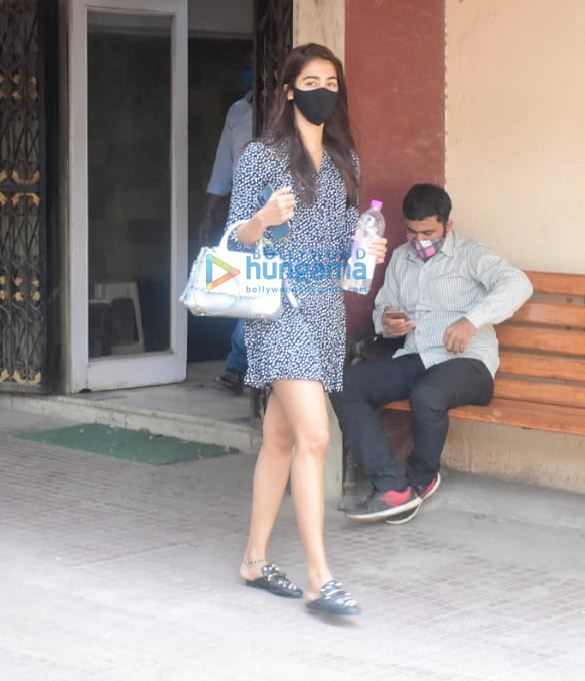 Photos: Pooja Hegde spotted at her pilate class