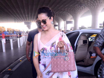 Photos: Rajkummar Rao, Patralekha, Sunny Deol, Kangana Ranaut and others snapped at the airport