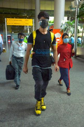 Photos: Shahid Kapoor, Hema Malini and Faruk Kabir snapped at the airport