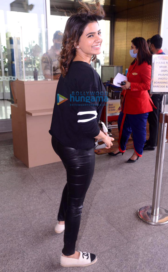 Photos Sonal Chauhan, Raveena Tandon, Vicky Kaushal and others snapped at the airport5 (1)