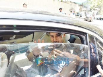 Photos: Tiger Shroff and Disha Patani snapped in Andheri