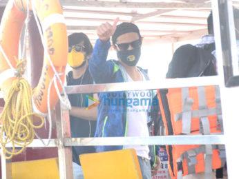 Photos: Vatsal Sheth snapped at a jetty