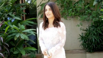 Radhika Madan spotted around the house in Juhu