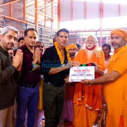 On The Sets From The Movie Ram Setu