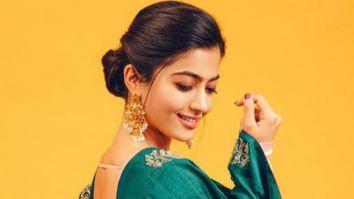 Rashmika Mandanna gives a sneak peek of her look from Mission Majnu