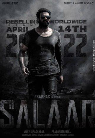 First Look Of The Movie Salaar
