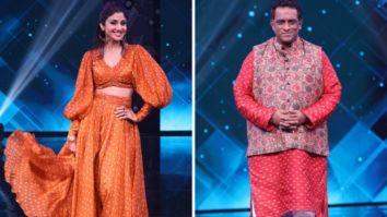 Shilpa Shetty Kundra turns fitness guru for Anurag Basu on the sets of Super Dancer Chapter 4