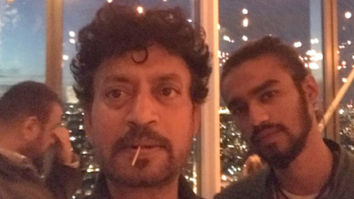 THROWBACK Irrfan Khan and Babil Khan trying to copy each other's style is too cute to miss!