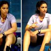 The resemblance between Saina Nehwal and Parineeti Chopra in this still from Saina is uncanny