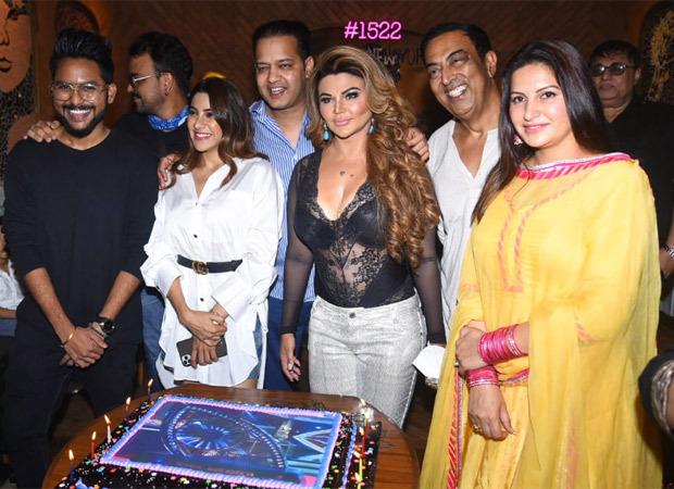 Rakhi Sawant hosts a Bigg Boss 14 party; Nikki Tamboli, Jaan Kumar Sanu, Rahul Mahajan attend