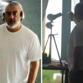 Pictures and videos of Thala Ajith practicing rifle shooting in Chennai go viral