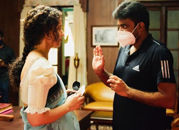 Kangana Ranaut shares a emotional post for Thalaivi director A.L Vijay; says she has a sinking feeling
