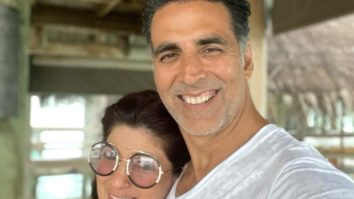Akshay Kumar shares a happy selfie with Twinkle Khanna as they enjoy their beach vacation