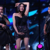 Janhvi Kapoor and Asees Kaur perform to the song Panghat from Roohi on Indian Pro Music League