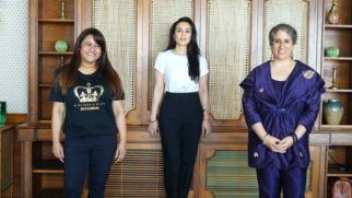 Preity Zinta, Guneet Monga and Rohini Iyer led a panel on Women's Rights Today hosted by United For Human Rights
