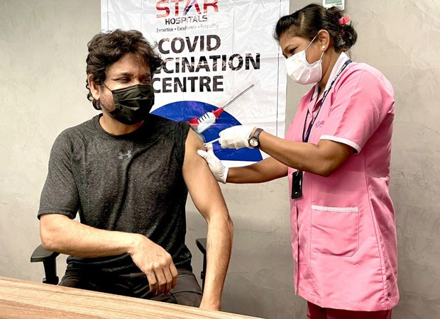 Nagarjuna Akkineni takes the first dose of COVID-19 vaccination; says 'absolutely no down time'