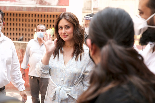 Kareena Kapoor Khan resumes work post giving birth to her son, shoots a cooking show
