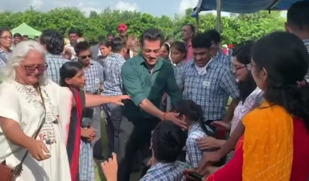 Salman Khan dances with children on World Down Syndrome Day, shares throwback video