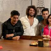 Sara Ali Khan hangs out with Liger star Vijay Deverakonda and Karan Johar