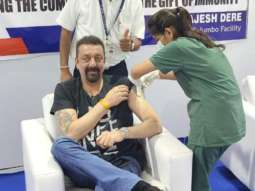 Sanjay Dutt gets first dose of COVID-19 vaccine, shares picture