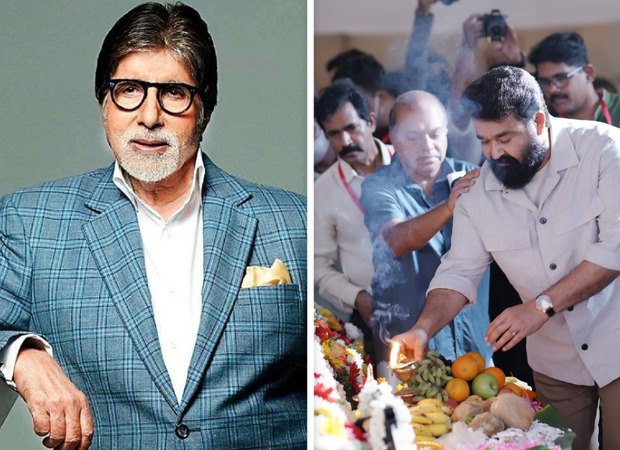 Amitabh Bachchan has a special message for Mohanlal whose debut directorial Barroz goes on floors today