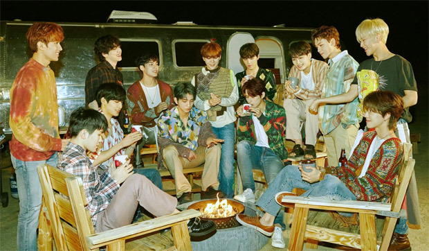 SEVENTEEN serenades with medley of their hit tracks, performs a special cover of Justin Bieber's 'Holy'
