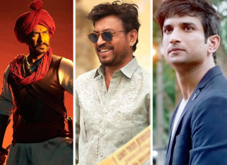 Filmfare Awards 2021: It's Ajay Devgn vs Irrfan Khan vs Sushant Singh Rajput in the Best Actor category