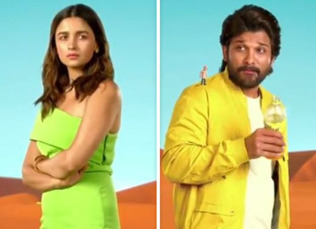 Allu Arjun and Alia Bhatt share screen space for the first time; watch