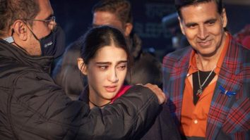 Sara Ali Khan concludes the shoot for Atrangi Re; pens a note for Akshay Kumar, Dhanush, and Aanand L Rai